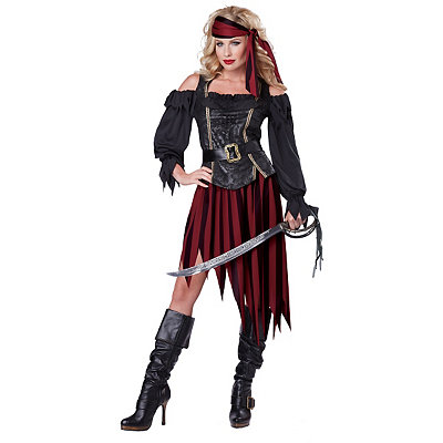 Adult Queen of the Sea Pirate Costume