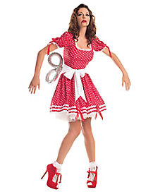 Wind Up Doll Adult Womens Costume