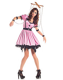 Pink Marionette Adult Womens Costume