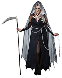 Adult Lady Reaper Plus Size Costume
