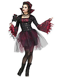 Gothic Rose Vampire Adult Womens Costume