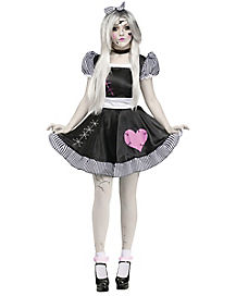 Broken China Doll Adult Womens Costume