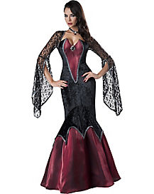 Adult Midnight Vampiress Costume - Theatrical