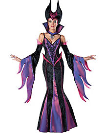 Adult Dark Sorceress Witch Costume - Theatrical