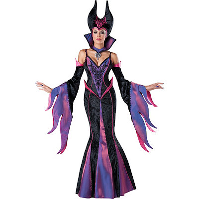 Dark Sorceress Womens Theatrical Witch Costume