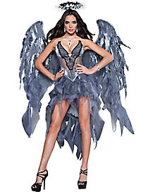Adult Desire Dark Angel Costume - Theatrical