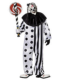 Killer Clown Adult Mens Plus Size Costume