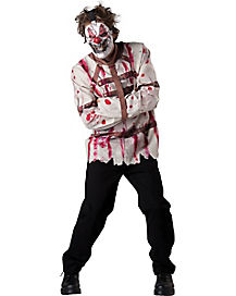 Carnival Killer Adult Mens Clown Costume