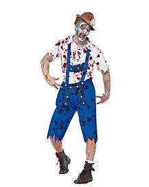 Zombie Bavarian Adult Mens Costume