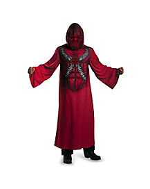Hooded Devil Robe Adult Costume