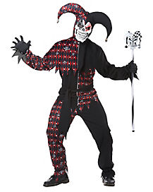 Sinister Jester Adult Mens Costume