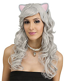 Gray Mouse Wig