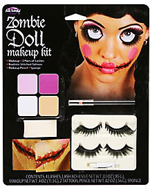 Zombie Doll Makeup Kit