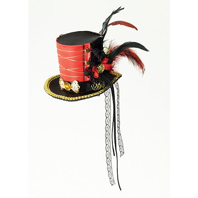 Twisted Attraction Mini Top Hat $24.99 AT vintagedancer.com