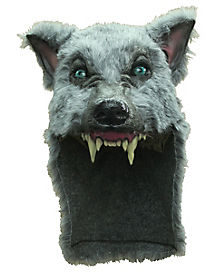 Grey Wolf Helmet