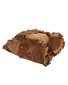 Kids Brown Tattered Pirate Hat