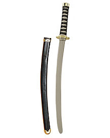 30 in Black Ninja Sword