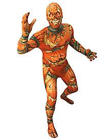 Adult Jack O Lantern Skin Suit Costume