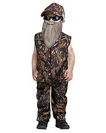 Toddler Duck Hunter One Piece Costume
