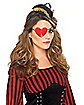 Heart Shaped Pirate Eye Patch