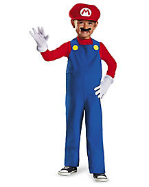 Toddler Mario One Piece Costume - Super Mario Bros.
