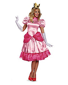 Mario Bros. Princess Peach Adult Costume