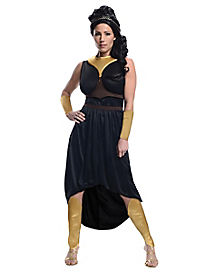 Adult Black Queen Gorgo Costume - 300