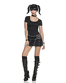 Adult Abby Goth Costume - NCIS