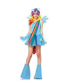 My Little Pony Rainbow Dash Adult Womens Costume