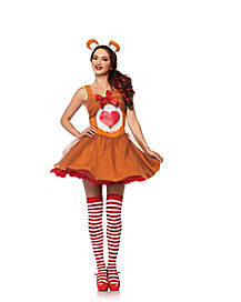 Adult Tenderheart Costume - Care Bear