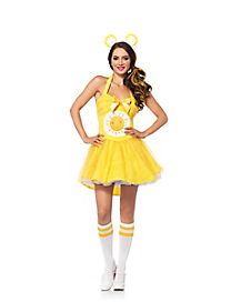 Care Bear Funshine Bear Adult Womens Costume