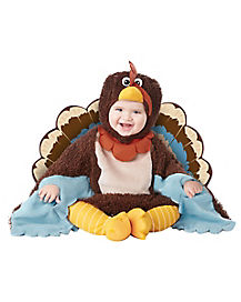 Baby Gobble Gobble Turkey One Piece Costume