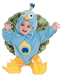 Baby Peacock One Piece Costume