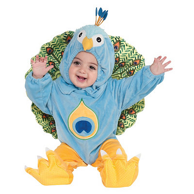 Peacock Infant Costume