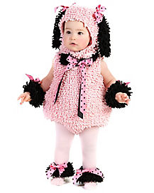 Baby Pinkie Poodle Costume
