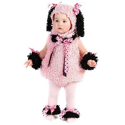 Pinkie Poodle Infant Costume