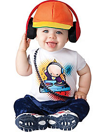 Toddler Baby Beats DJ One Piece Costume