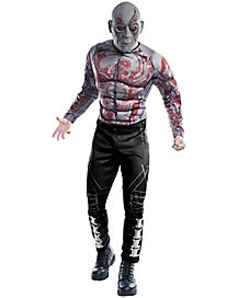 Adult Drax the Destroyer Costume - Guardians of Galaxy