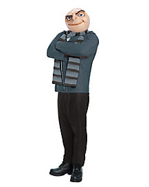 Despicable Me Gru Adult Mens Plus Size Costume