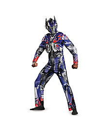 Adult Movie Optimus Prime Costume Deluxe- Transformers