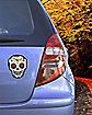 Senorita Sugar Skull Car Magnet