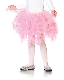 Kids Layered Pink Petticoat