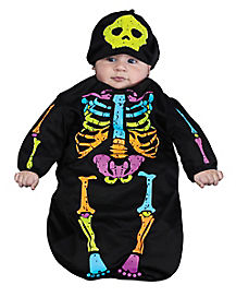 Skeleton Baby Bunting Infant Costume