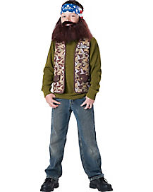 Kids Willie Costume - Duck Dynasty