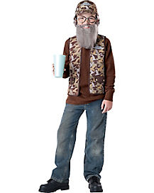 Kids Uncle Si Costume - Duck Dynasty