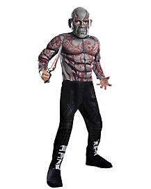 Kids Drax the Destroyer Costume Deluxe - Guardians of the Galaxy