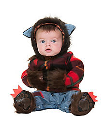 Baby Wolfman Infant Costume