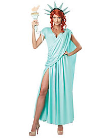 Adult Lady Liberty Costume