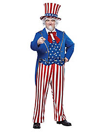 Adult Uncle Sam Plus Size Costume