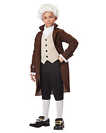 Kids Colonial Man Costume